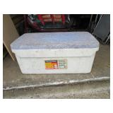 Large Foam Cooler Solid  RED...