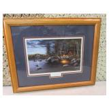 Jim Hansel Northern Solitude Framed...