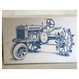 J.D. Wire Tread Tractor