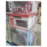 PALLET LOT OF GENERAL MERCHANDISE, MICROWAVE