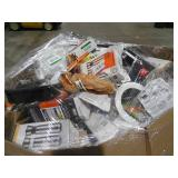 PALLET LOT OF GENERAL MERCHANDISE , SMALLS, HARDWARE,