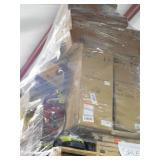 PALLET LOT OF GENERAL MERCHANDISE , TOOLS & HARDWARE