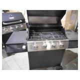 Dyna-Glo 4-Burner Open Cart LP Gas Grill in Black