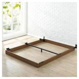 5 in. Full Wooden Bed Frame by  Zinus