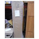 New - Sauder Highland Oak Storage Cabinet