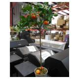 38 in. Potted Orange Tree by  Nearly Natural