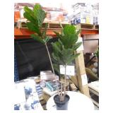 65 in. UV Resistant Indoor/Outdoor Fiddle Leaf Tree by  Nearly Natural
