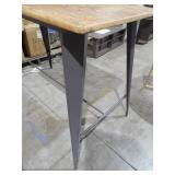 Oregon Grey and Brown Counter Height Dining Table by  Lumisource