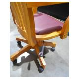Fruitwood Bankers Chair by  OSP Home Furnishings