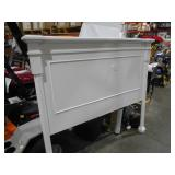 Aberdeen White Queen Bed by  Home Decorators Collection