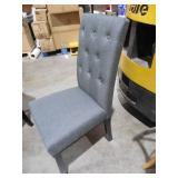 Confer Gray Dining Fabric Side Chair by  MODWAY