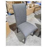 Parcel Gray Dining Fabric Side Chair by  MODWAY
