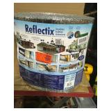 Reflectix 16 in. x 100 ft. Double Reflective Insulation Roll with Staple Tab Edge not used