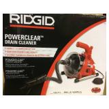 RIDGID PowerClear Drain Cleaner  in good condition