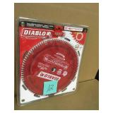 Diablo 12 in. x 96-Tooth Laminate/Non-Ferrous Metal Cutting Saw Blade  in good condition