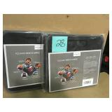 13 in. L x 23.6 in. W x 12 in. D X-Large Foldable Box-Black QTY 2  in good condition