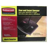 Rubbermaid Commercial Products Mechanical Floor and Carpet Sweeper  in good condition