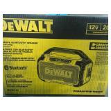 DEWALT 20-Volt MAX Bluetooth Speaker  in good condition