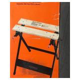 BLACK+DECKER Workmate 125 30 in. Folding Portable Workbench and Vise  in good condition