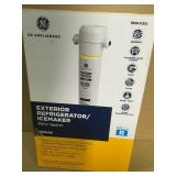 GE In-line Water Filtration System for Refrigerators or Icemakers  in good condition