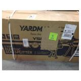 YARDMAX  5-Ton Electric Log Splitter with Stand and Log Tray 15Amp  in good conditions
