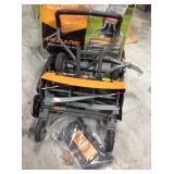 Fiskars  18 in. Cut Manual Push Non-Electric Walk Behind Reel Mower in good conditions