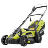 RYOBI  13 in. 11 Amp Corded Electric Walk Behind Push Mower in good conditions