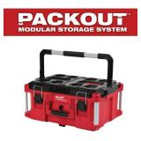 Milwaukee  PACKOUT 22 in. Large Tool Box in good conditions