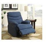 Blue Microfiber Recliner in good conditions