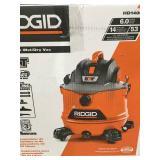 RIDGID  14 Gal. 6.0-Peak HP NXT Wet Dry Vacuum in good conditions