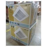 2 Hampton Bay 50 CFM Ceiling Bath Fan, TY-50-A(HD) - NEW IN BOX