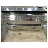 Bull Brahma 5 Burner Built-In Gas Grill, M32200021, Patio Island Grill Top. Set Up For Natural Gas. - Missing Rotisserie and Regulator