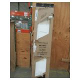 Jeld-Wen CTS 36 in. x 80 in. Craftsman White Painted Smooth Molded Composite MDF Closet Bi-fold Door, THDJW160200109