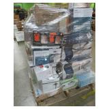 WHOLESALE MIXED PALLET OF RETURNS - CEILING FANS AND LIGHTING!
