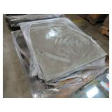 """Approximately 20 Mirrored Glass Panels Each Measuring 32"""" X 36"""""""
