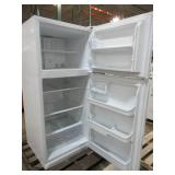 Frigidaire 20.4-cu ft Top-Freezer Refrigerator (White) ENERGY STAR FFHT2032TP - Scratch and dent - Used?