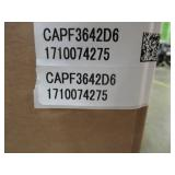 """Goodman Direct Comfort DC-CAPF Series Evaporator Coil - 3 to 3-1/2 Ton - Cased - Upflow/Downflow - 24-1/2"""" Width, CAPF3642D6 - NEW in Box."""