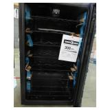 Frigidaire 34-Bottle Capacity Black Freestanding Wine Chiller FFWC34L2SB - Outside glass on door is broken.