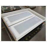 Steves & Sons 60 in. x 80 in. Retrofit Right-Hand Inswing Primed White Steel Patio Door, STPOL_PR_60_41RH