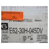 American Water Heater Premier Plus 30 Gallon Electric Water Heater, E62-30H-045DV - New in Box