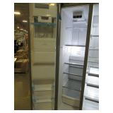 Whirlpool 24.5-cu ft Side-by-Side Refrigerator with Ice Maker (Fingerprint Resistant Stainless Steel) WRS555SIHZ - New out of box