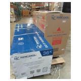 Mr. Cool DIY Enhanced 34,400 BTU Ductless Mini-Split Air Conditioner and Heat Pump - 208-230V/60Hz DIY-36-HP-230AEc- New in Box