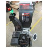 Brush Master 445cc, 5 in. x 3.5 in. Dia feed, innovative unique and versatile 3-in-1 discharge, Self feed CH10M18 - New Out of Box!