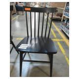 Windsor Spindle Back Dining Chairs - Black (Set of 2), 249-02-0166