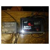 2 battery chargers - working.