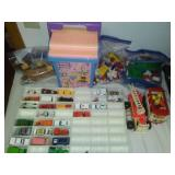 Toys - Matchbox, Hot Wheels, Mega Block Legos and more.