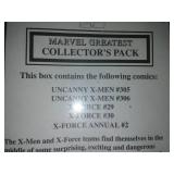 2 Marvel X-Men collector packs - unopened.
