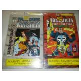 2 Marvel Punisher collector packs - unopened.