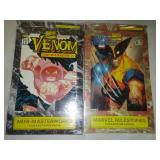 2 Marvel collector packs - Venom and Marvel masterpieces, unopened.