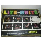 Vintage Lite-Brite vintage with refill Pages